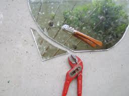 Spiegels op maat snijden
